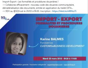 Import / Export : les procédures de dédouanement
